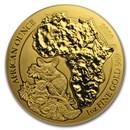 2020 Rwanda 1 oz Gold African Bushbaby BU