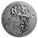 2020 Rwanda 1 oz Silver African Bushbaby BU