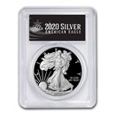 2020-S Proof American Silver Eagle PR-70 PCGS (FDI, Black Label)