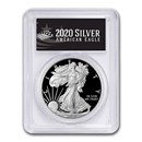 2020-S Proof American Silver Eagle PR-70 PCGS (FS, Black Label)