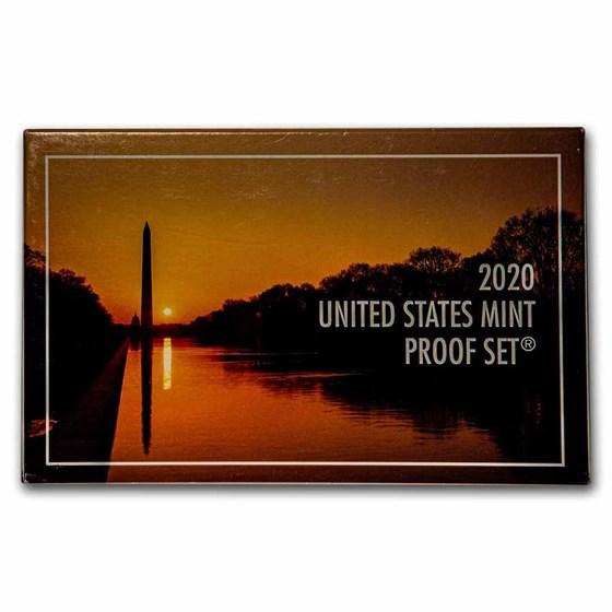 2020-S U.S. Proof Set (w/o West Point Proof Nickel)
