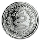 2020 Samoa 1 oz Silver Serpent of Milan BU