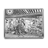 2020 Silver €10 Masterpieces of Museums Proof (Guernica)