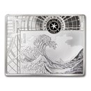 2020 Silver €10 Masterpieces of Museums Proof (The Wave)