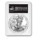 2020 Silver American Eagle MS-70 PCGS (First Day, Black Label)