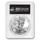 2020 Silver American Eagle MS-70 PCGS (FirstStrike®, Black Label)