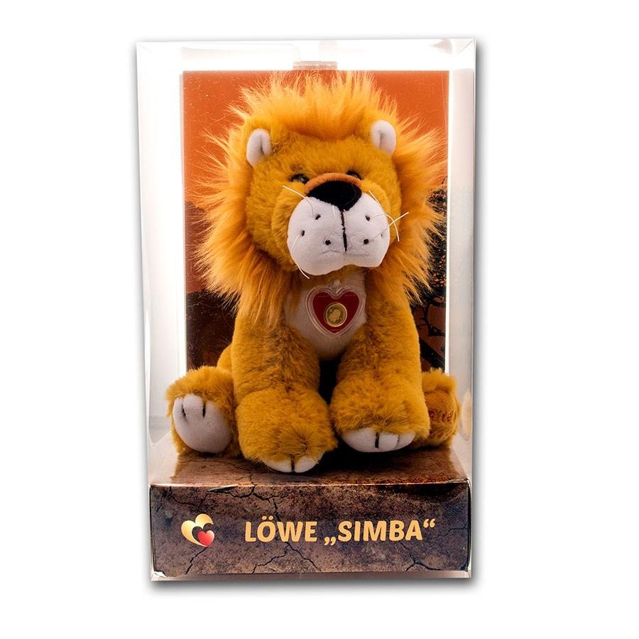 """2020 Solomon Islands 1/2 Gram Gold Goldheart Family: Lion """"Simba"""""""