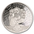 2020 Solomon Islands 1 oz Silver Proof Number Pi