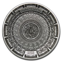 2020 Solomon Islands 100 gram Silver Forbidden City (4-Layer)
