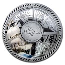 2020 Solomon Islands Silver 400th Anniversary Mayflower