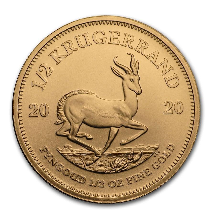 2020 South Africa 1/2 oz Gold Krugerrand