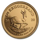 2020 South Africa 1/4 oz Proof Gold Krugerrand