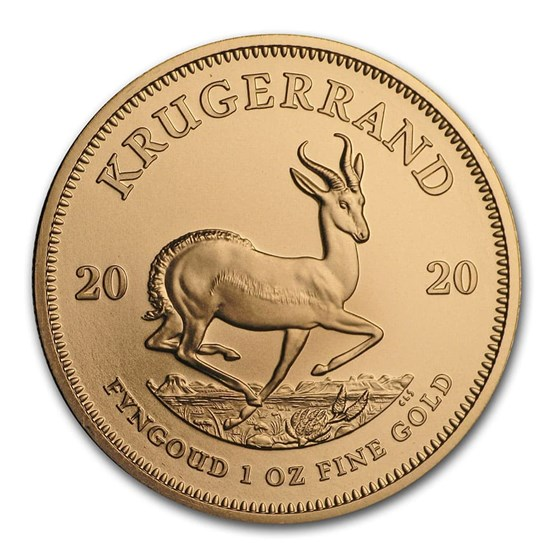 2020 South Africa 1 oz Gold Krugerrand BU
