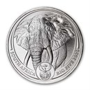 2020 South Africa 1 oz Platinum Big Five Elephant BU