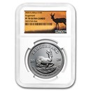 2020 South Africa 1 oz Silver Krugerrand PF-70 NGC