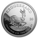 2020 South Africa 2 oz Silver Krugerrand Proof