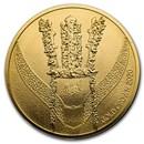 2020 South Korea 1 oz Gold Crown BU