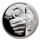 2020 South Korea 1 oz Silver K-Series Taekwondo Proof