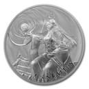 2020 South Korea 10 oz Silver ZI:SIN Rattus BU