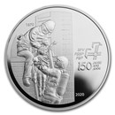 2020 Switzerland 20 CHF 150 Years of Firefighters (w/ Artist COA)