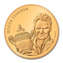 2020 Switzerland Gold 50 CHF Roger Federer Proof