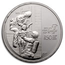 2020 Switzerland Silver 20 CHF 150 Years of Firefighters Proof