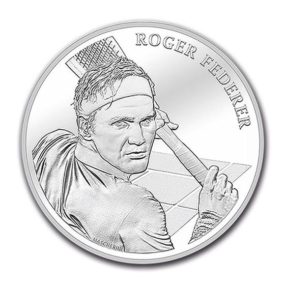 2020 Switzerland Silver 20 CHF Roger Federer BU
