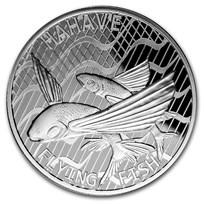 2020 Tokelau 1 oz Silver $5 Flying Fish: Hahave