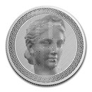 2020 Tokelau 1 oz Silver $5 ICON (Prooflike)