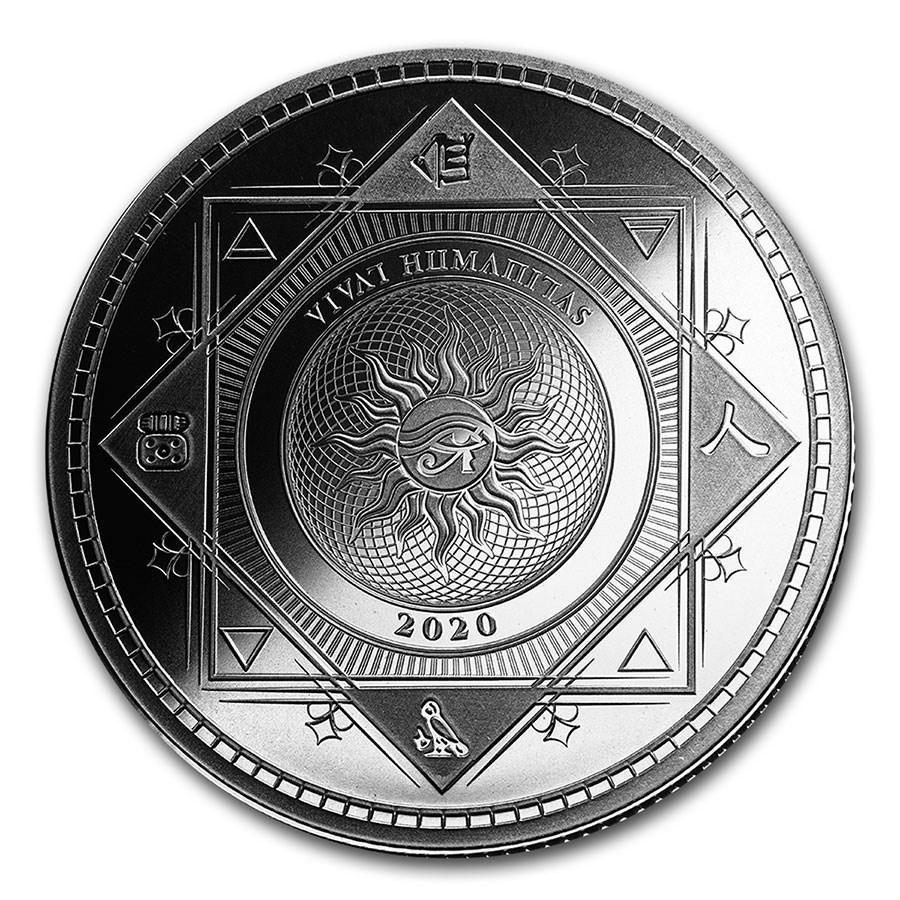 2020 Tokelau 1 oz Silver $5 Vivat Humanitas