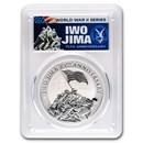 2020 Tuvalu 1 oz Silver Iwo Jima 75th Anniv MS-70 PCGS (FDI)