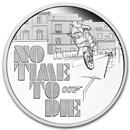 2020 Tuvalu 1 oz Silver James Bond 007 No Time to Die Proof