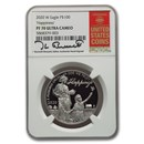 2020-W 1 oz Proof American Platinum Eagle PF-70 NGC (Bressett)