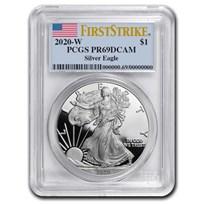 2020-W American Silver Eagle PR-69 PCGS (FirstStrike®)