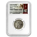 2020-W ATB Quarter Weir Farm National Historic Site MS-64 NGC