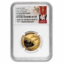 2020-W Gold World War II Anniversary PR-70 NGC (V75)