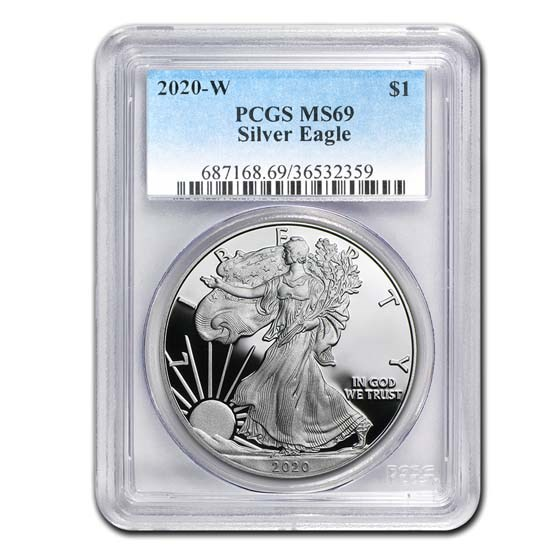 2020-W Proof American Silver Eagle PR-69 PCGS