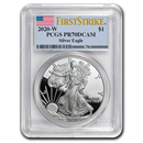 2020-W Silver American Eagle PR-70 PCGS (FirstStrike®)