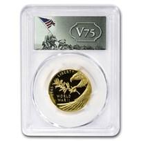 2020-W World War II Gold Anniversary Coin PR-70 PCGS (FS, V75)