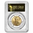 2021 1/2 oz American Gold Eagle MS-70 PCGS (FDI, Black, Type 2)