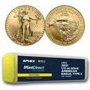 2021 1/2 oz Gold Eagle (40-Coin MD® Prem + PCGS FS® Tube, Type 2)