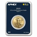2021 1/2 oz Gold Eagle (MD® Premier + PCGS FirstStrike®, Type 2)
