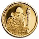 2021 1/4 oz Gold Coin $25 The Lord of the Rings: Gandalf the Grey