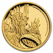 2021 1/4 oz Gold Coin $25 The Lord of the Rings: Sauron