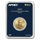 2021 1/4 oz Gold Eagle (MD® Premier + PCGS FirstStrike®, Type 2)
