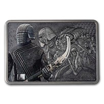 2021 1 oz Ag $2 Star Wars Guards of the Empire - Knights of Ren