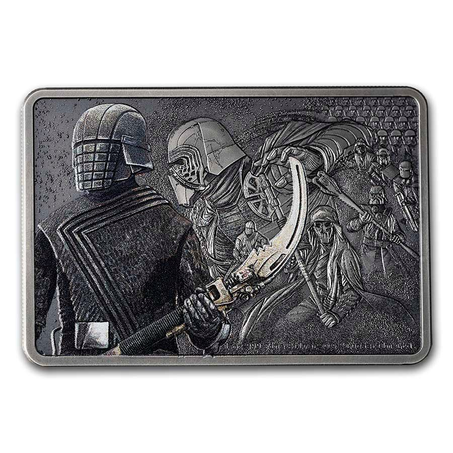 2021 1 oz Ag $2 Star Wars Guards of the Empire: Knights of Ren