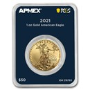 2021 1 oz American Gold Eagle (MD® Premier + PCGS FirstStrike®)