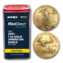 2021 1 oz American Gold Eagle (MD® Premier + PCGS FS® Tube)