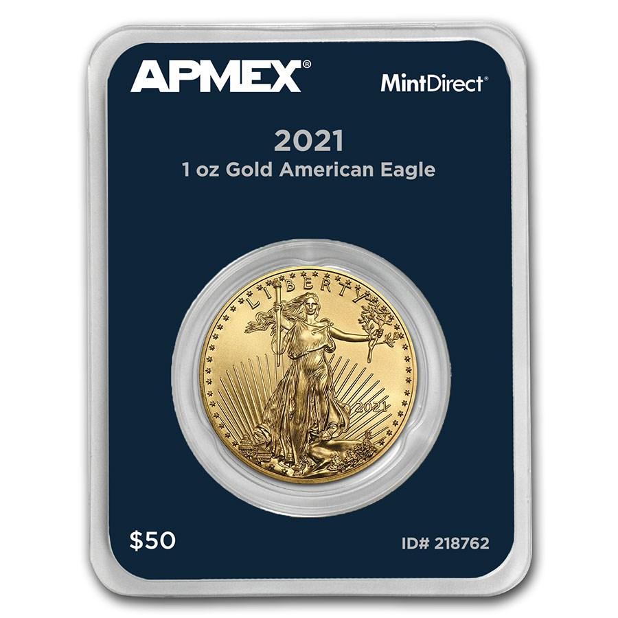 2021 1 oz American Gold Eagle (MintDirect® Single)